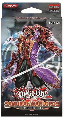 YuGiOh Samurai Warlords 1st EDITION Structure Deck (Yu Gi Oh ZEXAL) by Konami