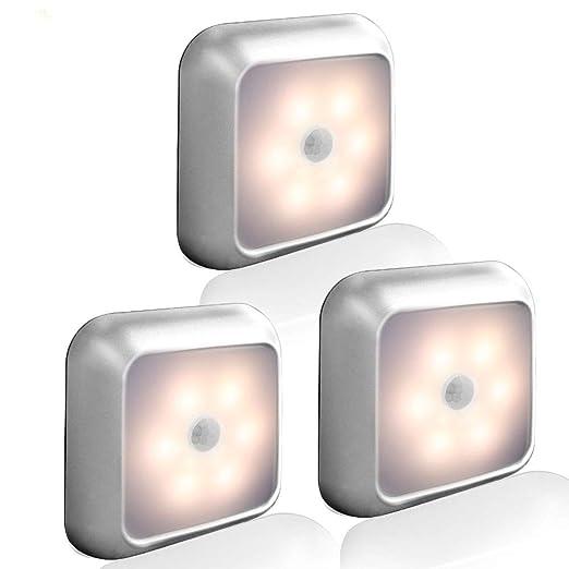 ATYMD Luz de Sensor de Movimiento Automático, Luz de Sensor ...