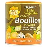 4X Marigold Organic Vegan Bouillon Powder Reduced Salt 140g