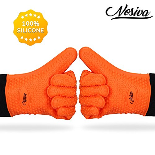 Silicone Oven Mitts Resistant Non slip