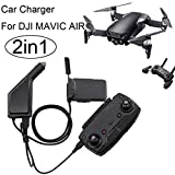 2 in1 USB Car Charger Remote Control Battery Charger For DJI Mavic AIR Drone