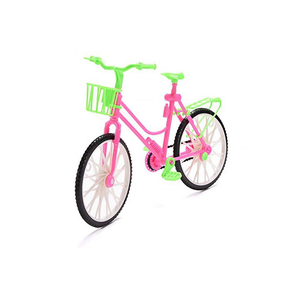 NiceButy Mini Mountain Bike Excellent Mini Plastic Toy Mini Extreme Sports Finger Bike Cool Boy Toy Bobby Doll Accessories