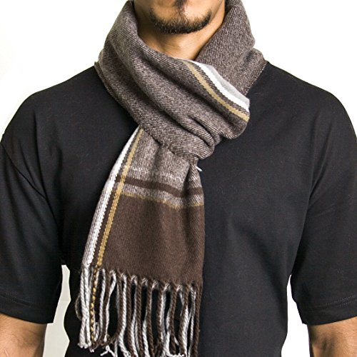 Alpine Swiss Winter Scarf Soft Elegant Fashion Wrap Scarves Fall Plaid
