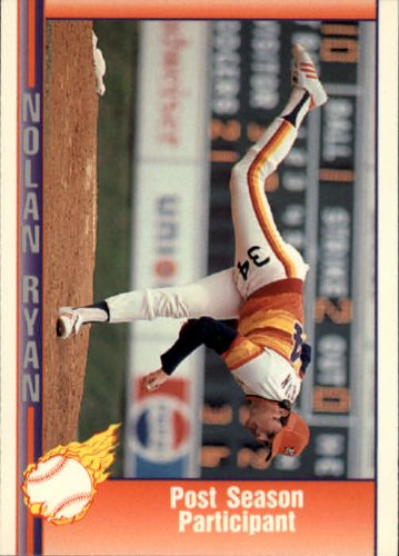 1991 Pacific Ryan Texas Express I Baseball Card #50 Nolan Ryan