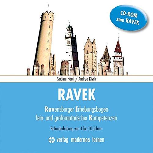 RAVEK CD-ROM 2016: zum Ravensburger Erhebungsbogen fein- und grafomotorischer Kompetenzen - Befunderhebung von 4-10 Jahren