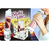 SHAKE 'n TAKE - Blender, Smoothie & Protein Shake Maker with Extra Sport bottle by Silicone Bakeware