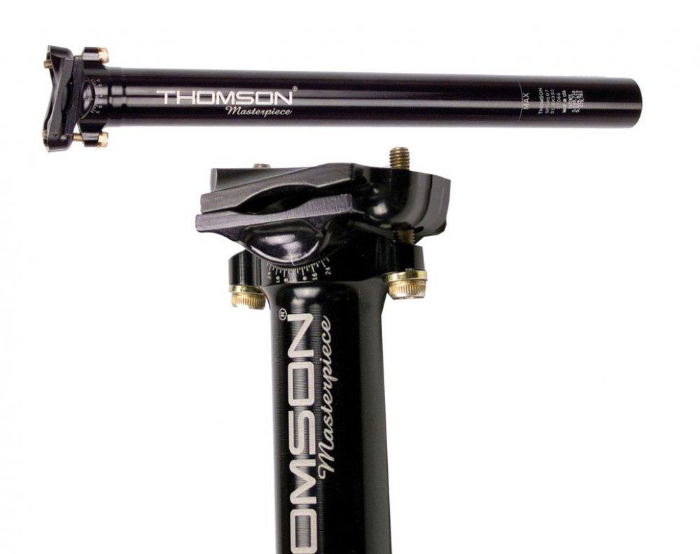 Patentsattelstütze Thomson Masterpiece, Ø 27, 2mm, 240mm, schwarz, 158g