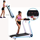 KELAND 2.5HP Electric Folding Treadmill, Walking Running Machine, Fitness Exercise Equipment Gym Home, US Stock