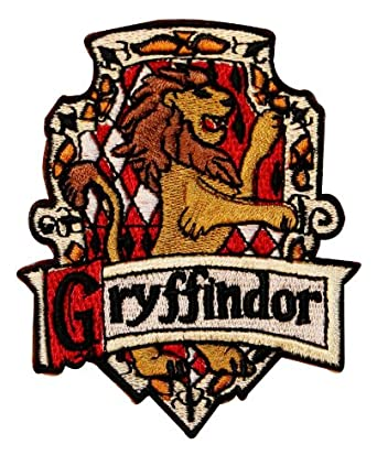 Amazon.com: Harry Potter House of GRYFFINDOR Crest PATCH: Clothing