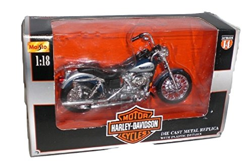 Maisto Harley Davidson 2002 FXDL Dyna Low Rider die cast Motorcycle 1:18 scale Series 14