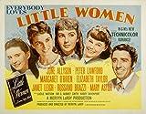Little Women Margaret O'Brien Janet Leigh Elizabeth Taylor June Allyson Peter Lawford 1949 Movie Poster Masterprint (28 x 22)