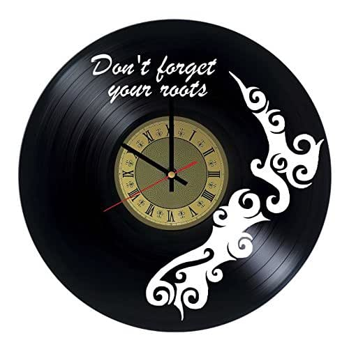 Amazon.com: New Zealand Vinyl Wall Clock