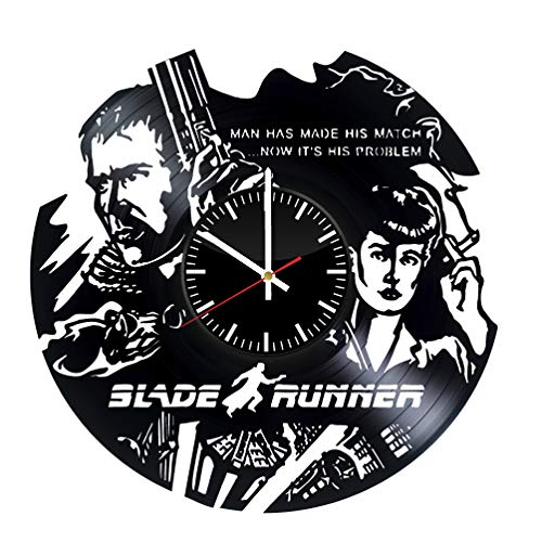 Blade Runner Unique Wall Clock for bedroom, bathroom, kitchen, livingroom – gift idea for birthday, wedding, Mother's Day, Valentine's Day