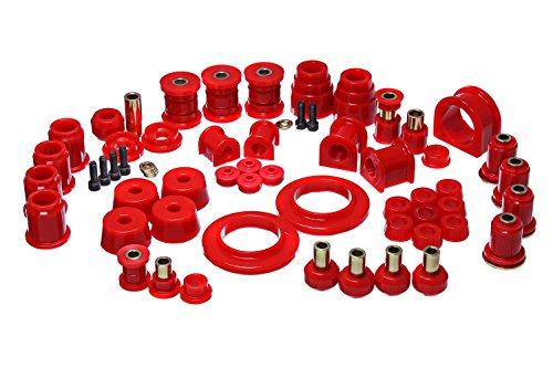 - Energy Suspension 8.18114R Hyper-Flex System Red Master Bushing Set Hyper-Flex System