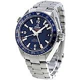 [オメガ] 腕時計 Seamaster Planet Ocean ブルー文字盤 コーアクシャル自動巻 600m防水 232.90.44.22.03.001 メンズ 並行輸入品 シルバー
