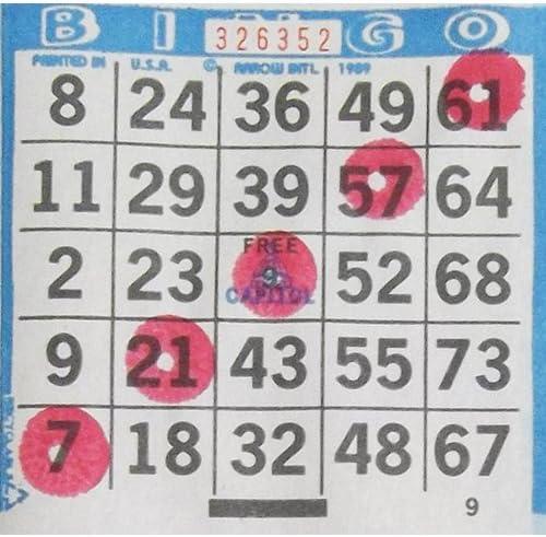 Dab-O-Ink Six Pack 3oz Red Bingo Dauber