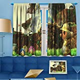 Wlkecgi Blackout Curtain 3D Super Mario Shading