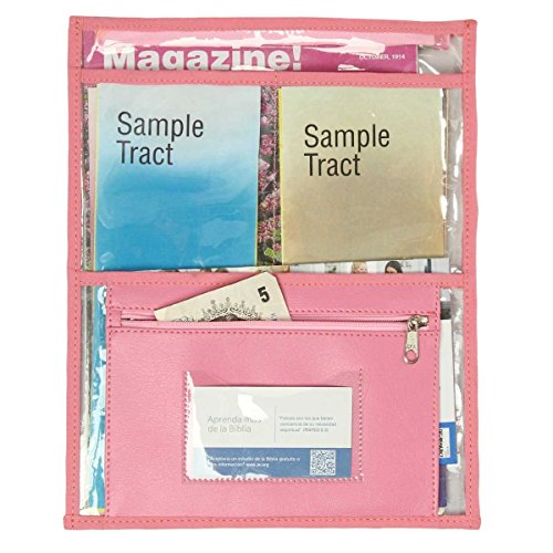 Transparent Pouch for invitation work and special campaigns - Blossom Pink