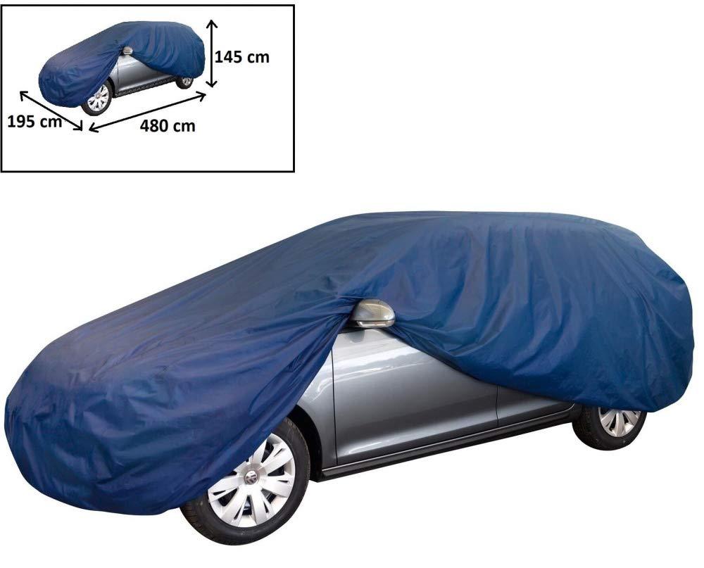 rmg-distribuzione Telo copriauto per Citroen C1 in Poliestere Blu Idrorepellente Misura 440 x 185 x 145cm