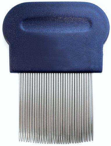 Schooltime Lice & Nit Comb-- Metal Comb with Ergonomic (Nit Comb)