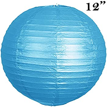 12 pack 12 paper lanterns lamp shades party supplies wedding party 12 pack 12 paper lanterns lamp shades party supplies turquoise aloadofball Gallery