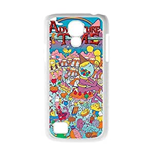 Printing Adventure Time For Galaxy S4 Mini Hard Plastic Phone Cases For Girls Choose Design 1