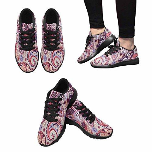 Scarpe Da Corsa Trail Running Da Donna Jogging Leggero Sportivo Da Passeggio Sneakers Da Ginnastica Modello Fiori Multi 1