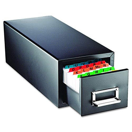 STEELMASTER Steel Single Card File Drawer for 5