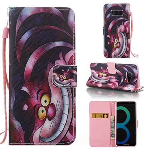 Price comparison product image Samsung Galaxy S8 Plus Case ,SAVYOU PU Leather Flip case With Stand Card Holster Magnetic Cover Wallet case for Samsung Galaxy S8 Plus(Monster)