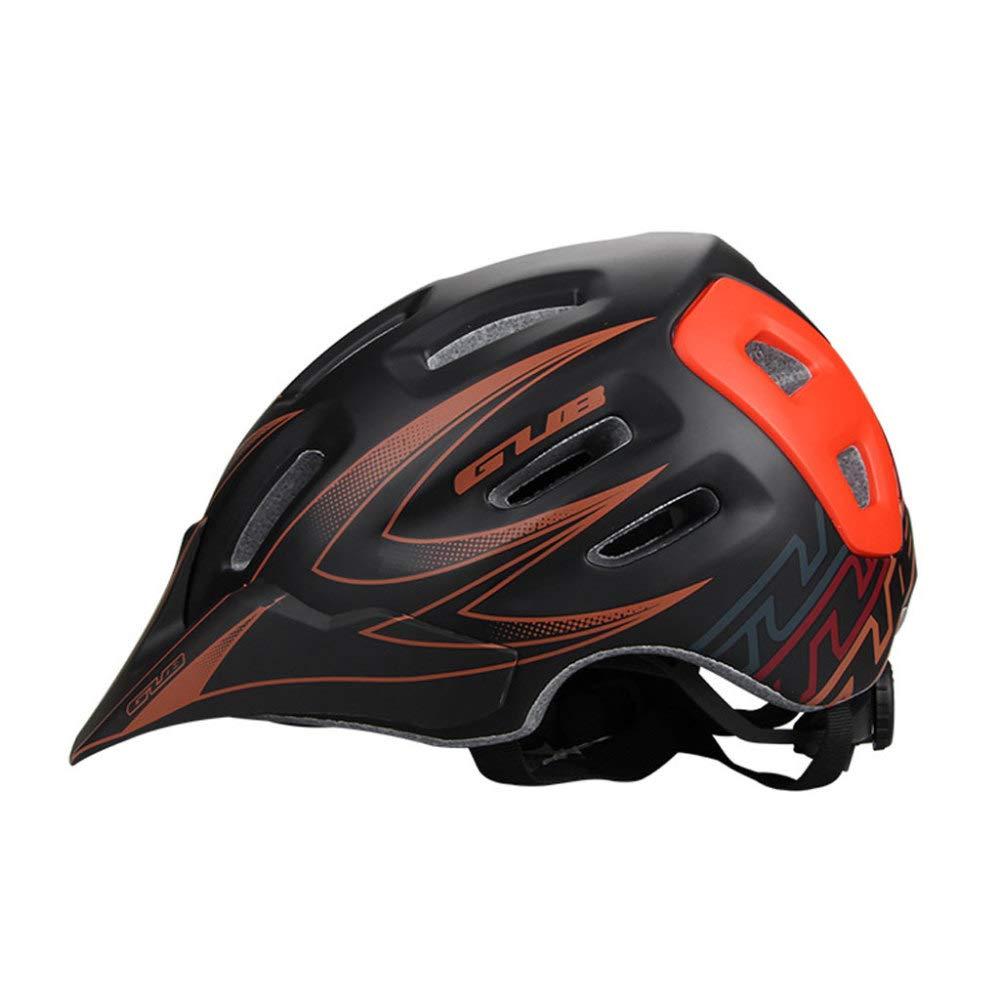 Fahrradhelm,18 Belüftungsöffnungen Einstellbar Komfort Sicherheit Helm Unisex Straße Mountainbike Helm,D-L