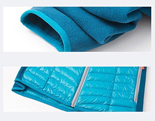 Winter Hiking Puffer Climbing Blue Jacket Down Outdoor Ultralight Ladies Parka emansmoer Coat Sport Women's Jacket Packable g1c4q