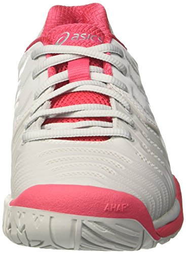 Gel da 7 Glacier Ginnastica Rouge Grigio Scarpe White Resolution Red Asics Grey Donna gBwIdg