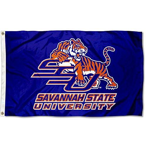 rsity Tigers 3x5 Flag (Savannah Two Metal)