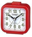 Casio, TQ-141-4EF, Sveglia analogica al quarzo, Rosso