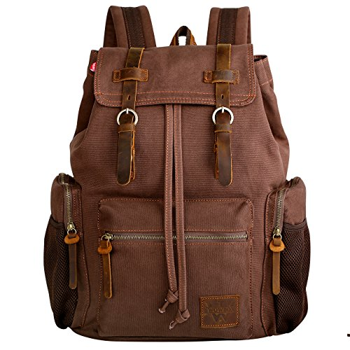 Full Sized Canvas Backpack - 2