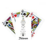 beatChong Taiwan Travel Eluanbi Lighthouse China Poker Playing Card Tabletop Board Game Gift