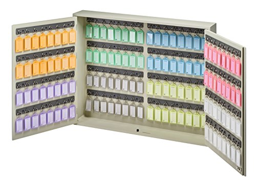 Acrimet Key Cabinet, 128 Positions, with 128 Key Tags by Acrimet