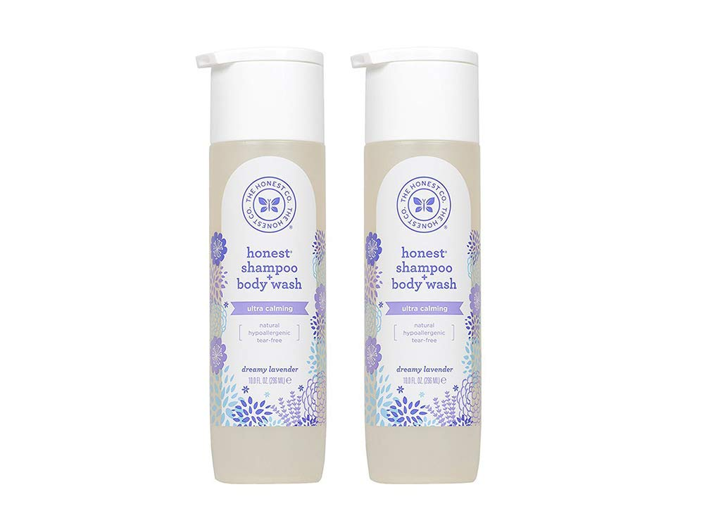 Lavender Wash, 10 Ounce (2 Bottles) by The Honest Company