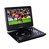 Best Portable T Vs - Buyee Rotating Swivel Screen Handheld Portable DVD Player Review