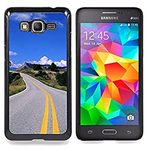 SKCASE Center / Funda Carcasa protectora - Carretera abierta;;;;;;;; - Samsung Galaxy Grand Prime G530H / DS