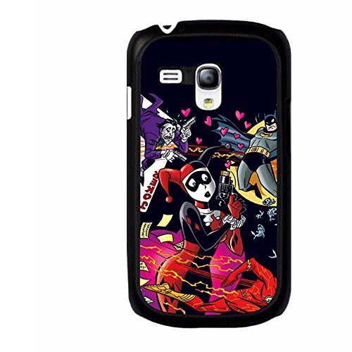 Cute Pattern Harley Quinn And Joker Phone Case Anti-Proof Phone Cover for Coque Samsung Galaxy S3 Mini,Cas De Téléphone