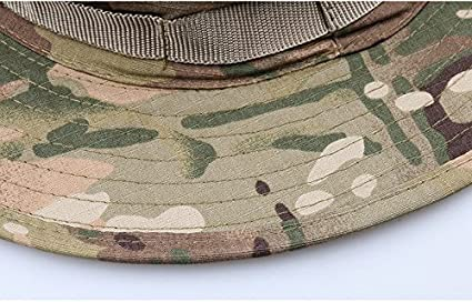 Amazon.com  Blue Stones Boonie Hats Tactical Airsoft Sniper Camouflage Tree  Bucket Cap Accessories Military Army American Military Men  Kitchen   Dining b95057c17942