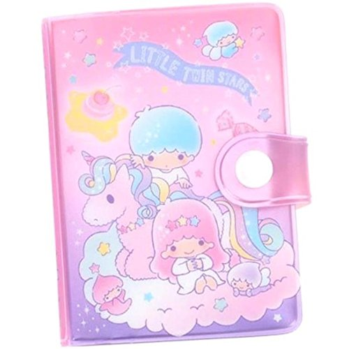 Little Twin Stars Business ID Credit Card Holder Case 24 Pockets Small