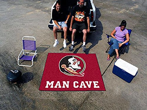 Collegiate, Florida State Wholesale FanMats Florida State University Man Cave Tailgater Rug 60x72,