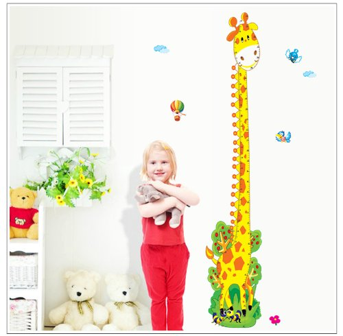 kappier-cute-giraffe-height-measurement-growth-chart-in-inches-and-centimeters-removable-wall-decals