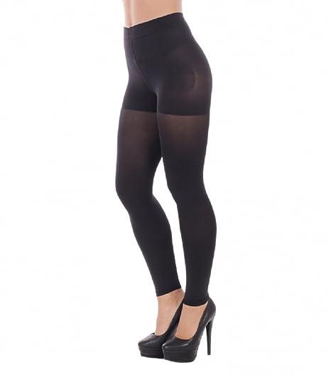 1c7c7e9121 OssaFashion Womens bio Active Slimming Control Anti Cellulite Shapewear Full  Ankle Length Leggings Black