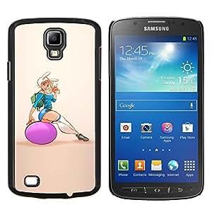 TECHCASE---Cubierta de la caja de protección para la piel dura ** Samsung Galaxy S4 Active i9295 ** --polluelo de la aptitud mujer sexy chica culo