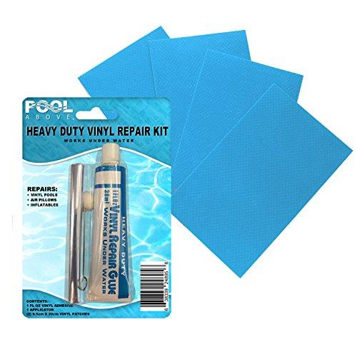 Heavy Duty Vinyl Intex Repair Patch Glue Kit for Swimming Po