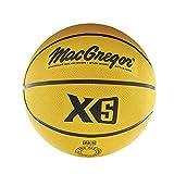 MacGregor Intermediate Size Multicolor Basketball, Yellow