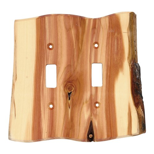 Black Forest Décor Rustic Juniper Wood - Horse Covers Switch Light